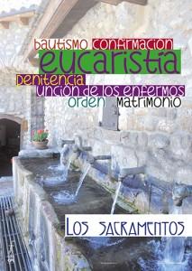 Cartel MD: Los sacramentos de la Iglesia
